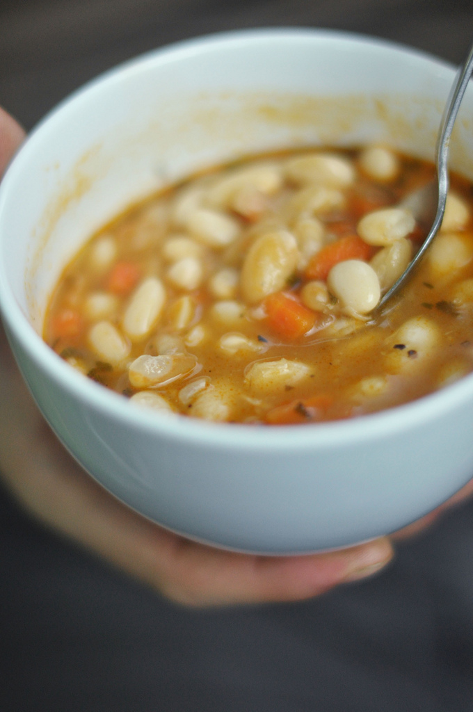 White Beans: Boil soaked white beans in water still soft. Blend and serve. Benefits: good supply of proteins; good source of vitamins like vitamin A, vitamin C, folate, high amount of dietary fiber, supply of antioxidants; supply of essential minerals like calcium, iron, phosphorous, potassium, magnesium, sodium and zinc.
